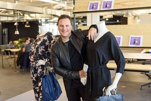 event photographer press conference online retailer with Guido Maria Kretschmer