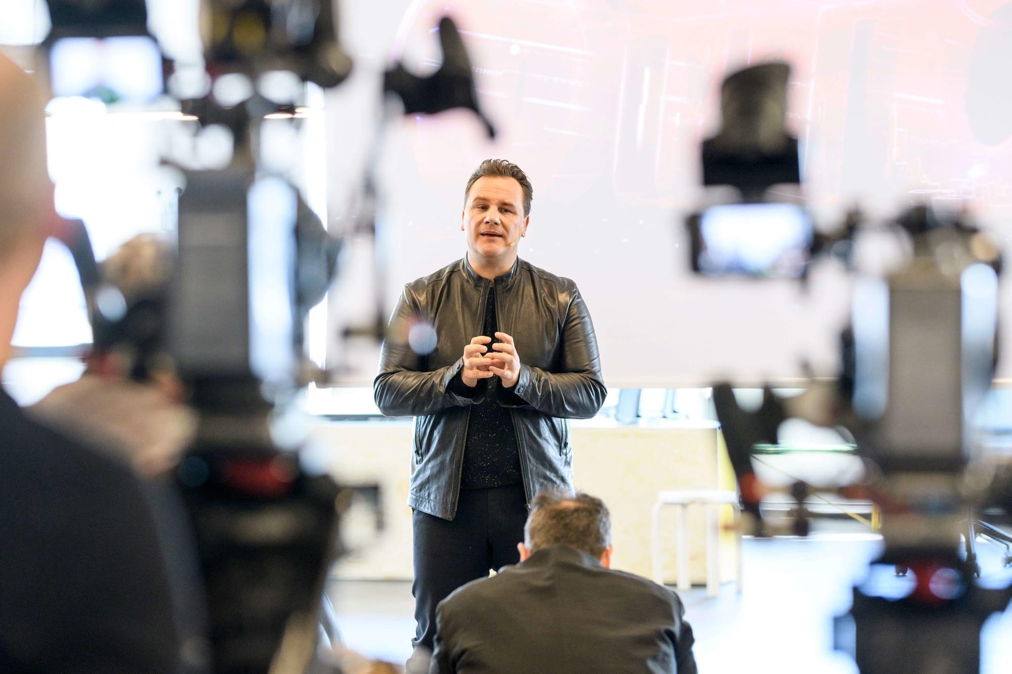 Eventfotograf Hamburg Fotograf Pressekonferenz Guido Maria Kretschmer